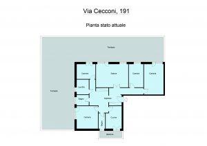 Appartamento via Eugenio Cecconi